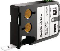 DYMO Heissschrumpfschlauchkassette , XTL schwarz / weiss 12 mm x 2.7 m - toolster.ch