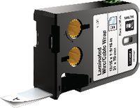 DYMO Etikettenkassette, selbstlaminierend Vinyl, schwarz / weiss XTL, 21 mm x 39 mm - toolster.ch
