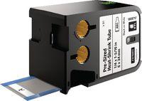 DYMO Heissschrumpfschlauchkassette , XTL schwarz / weiss 6 mm x 34 mm - toolster.ch