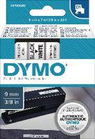 DYMO Schriftbandkassette  D1 9 mm x 7 m 40913 / schwarz auf weiss - toolster.ch