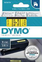 DYMO Schriftbandkassette  D1 9 mm x 7 m 40918 / schwarz auf gelb - toolster.ch