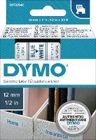 DYMO Schriftbandkassette  D1 12 mm x 7 m 45014 / blau auf weiss - toolster.ch