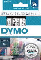 DYMO Schriftbandkassette  D1 24 mm x 7 m 53710 / schwarz auf transparent - toolster.ch