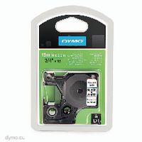 DYMO Schriftbandkassette 19 mm x 5.5m 16960 / schwarz auf weiss - toolster.ch