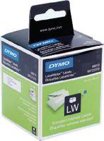 DYMO Adress-Etikette, weiss, 89x28mm, 130 Stk pro Rolle (Pack mit 2 Rollen) 99010 - toolster.ch