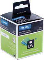 DYMO Etikette für Hängeablagen, weiss, 50x12 mm, 220 Stk. pro Rolle 99017 - toolster.ch