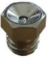 Schmiernippel Messing vernickelt 4007 / M6 D1 - toolster.ch