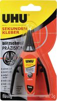 UHU Sekundenkleber 3 g, flüssig - toolster.ch