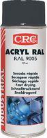 CRC Farb-Schutzlack-Spray 400 ml, ACRYL RAL 9005 Tiefschwarz, matt - toolster.ch