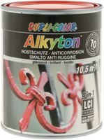 DUPLI-COLOR Alkyton Rostschutzlack 4-in-1 RAL-Farbton 750 ml, RAL 3020 Verkehrsrot glzd. - toolster.ch