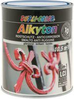 DUPLI-COLOR Alkyton Rostschutzlack 4-in-1 RAL-Farbton 750 ml, RAL 5010 Enzianblau glzd. - toolster.ch