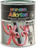 DUPLI-COLOR Alkyton Rostschutzlack 4-in-1 RAL-Farbton 750 ml, RAL 6005 Moosgrün glzd. - toolster.ch