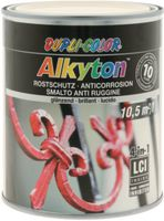 DUPLI-COLOR Alkyton Rostschutzlack 4-in-1 RAL-Farbton 750 ml, RAL 9001 Cremeweiss glzd. - toolster.ch
