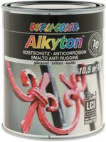 DUPLI-COLOR Alkyton Rostschutzlack 4-in-1 RAL-Farbton 750 ml, RAL 9005 Tiefschwarz glzd. - toolster.ch