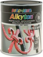 DUPLI-COLOR Alkyton Rostschutzlack 4-in-1 RAL-Farbton 750 ml, RAL 9005 Tiefschwarz matt - toolster.ch