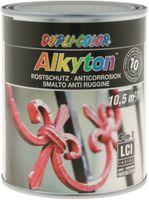 DUPLI-COLOR Alkyton Rostschutzlack 4-in-1 Effekt-Lack 750 ml, RAL 9006 Eisenglimmer - toolster.ch