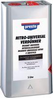 PRESTO Nitro Universalverdünner 5.0 Liter - toolster.ch