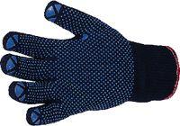 Strickhandschuh mit Noppen 7 / blau - toolster.ch