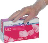 SEMPERGUARD Einweg-Vinyl-Handschuhe in Dispenserbox zu 100 Stück M (7-8) - toolster.ch