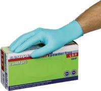 SEMPERGUARD Einweg-Nitril-Handschuhe Comfort in Dispenserboxen zu 100 Stück M (7-8) - brwtools.ch
