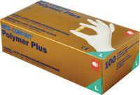 AMPRI Einweg-Latex-Handschuhe Polymer plus L - toolster.ch