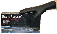 BLACKBARRIER Einweg-Nitril-Handschuhe Black Barrier in Dispenserbox zu 100 Stück L - toolster.ch