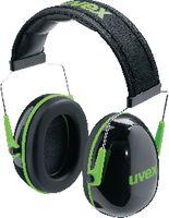 UVEX Gehörschützer  K1 schwarz / grün, 28 dB - toolster.ch