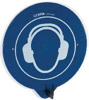 GEBRA SecuPoint Wandhaken Gehörschutz tragen blau - toolster.ch