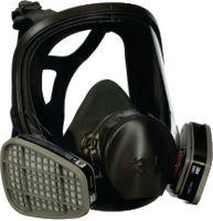 3M Atemschutzmaske gegen Gase, Dämpfe und Feinstaub 6800 M / Medium - toolster.ch