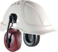 Gehörschutzkapsel Hellberg 1C mit Adapter 30 mm SNR 25dB, rot - toolster.ch