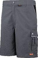 PLANAM Shorts  Canvas 320 grau/schwarz 2173 L - toolster.ch