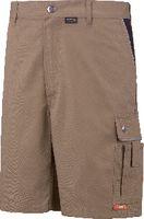 PLANAM Shorts  Canvas 320 khaki/schwarz 2175 L - toolster.ch