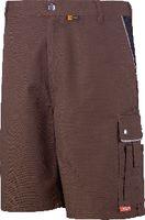 PLANAM Shorts  Canvas 320 braun/schwarz 2176 M - toolster.ch