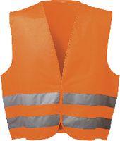Warnweste Oskar orange fluoreszierend unisex - toolster.ch