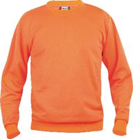 CLIQUE Sweat-Shirt  Basic Roundneck 021030 / warnschutz-orange M - toolster.ch