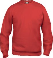 CLIQUE Sweat-Shirt  Basic Roundneck 021030 / rot L - toolster.ch