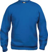 CLIQUE Sweat-Shirt  Basic Roundneck 021030 / royalblau L - toolster.ch