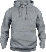 CLIQUE Basic Hoody  021031 graumeliert M - toolster.ch