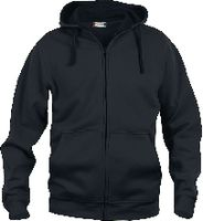 CLIQUE Basic Hoody Full Zip  021034 schwarz L - toolster.ch