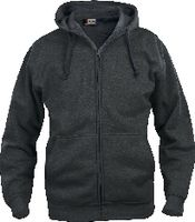 CLIQUE Basic Hoody Full Zip  021034 anthrazit meliert XL - toolster.ch