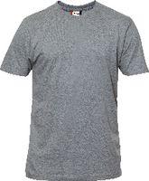 CLIQUE T-Shirt  PREMIUM-T 029340 graumeliert L - toolster.ch