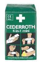 Set de mini pansements Cederroth 4-en-1 Stop-Sang mini - toolster.ch