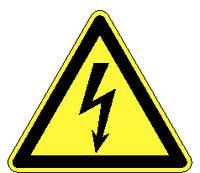Warnschilder 191 / 100 mm elektrische Spannung - toolster.ch