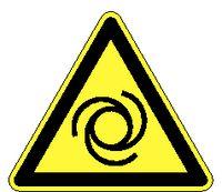 Warnschilder 243/ 100 mm automatischer Anlauf - toolster.ch