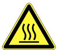 Warnschilder 326 / 100 mm heisse Oberfläche - toolster.ch