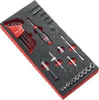 """FACOM Modul Sechskant-Steckschlüsselsatz 1/4"""" MODM.R161-36 - toolster.ch"""