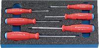 PREMIUM-Modul Schraubenzieherset für TORX®-Schrauben 300x150x30 mm, 6-teilig - toolster.ch