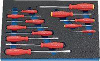 PREMIUM-Modul Schraubenzieherset 450x300x30 mm, 13-teilig - toolster.ch