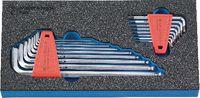 PREMIUM-Modul Inbusschlüsselsatz 300x150x30 mm, 17-teilig - toolster.ch