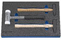 PREMIUM-Modul Hammerset 450x300x30 mm, 3-teilig - toolster.ch